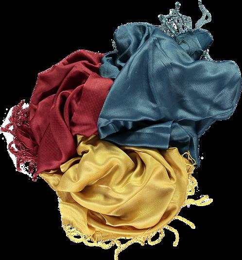 Plain Silk stoles .