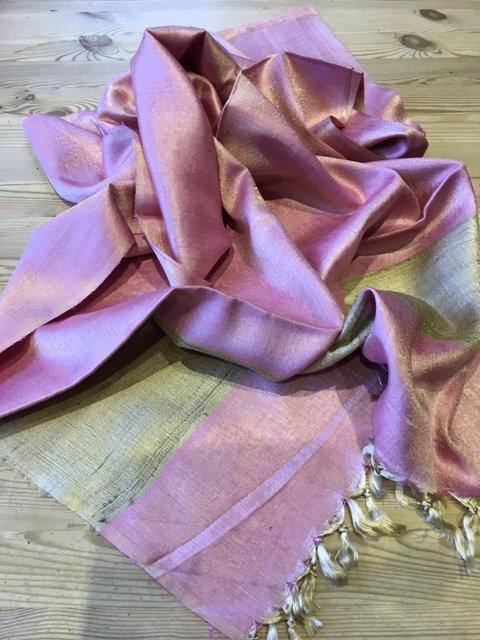 Raw silk stole from Orissa