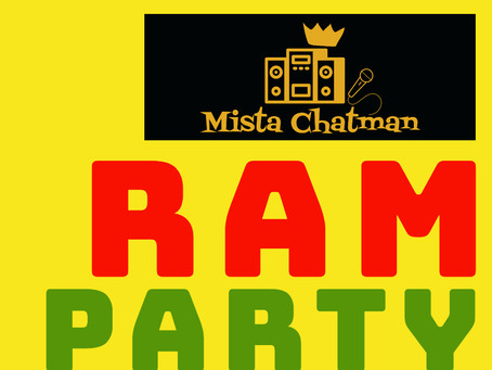 """NEW MISTA CHATMAN single for #BandcampFriday """"RAM PARTY"""""""