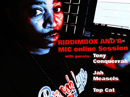 RIDDIMBOX AND A MIC- Live Online show outta Brooklyn, NYC!!!
