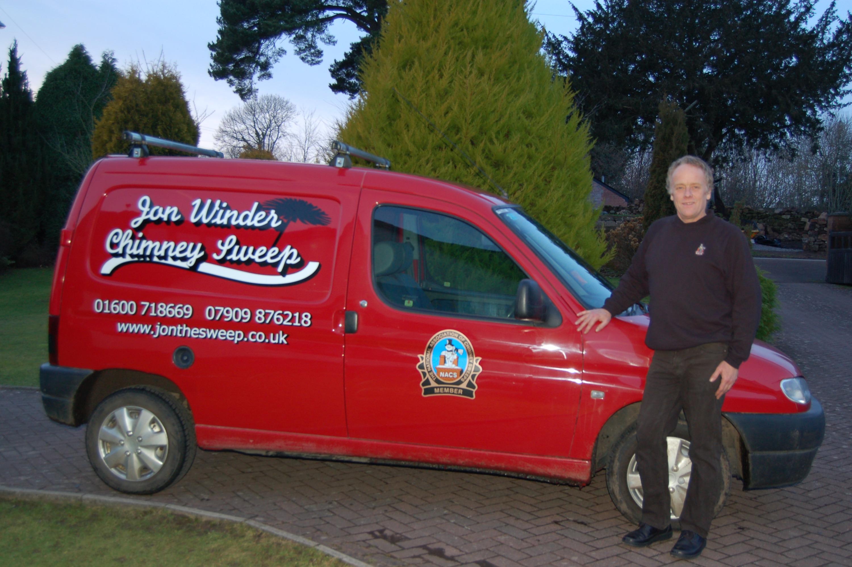 The original red van in 2010