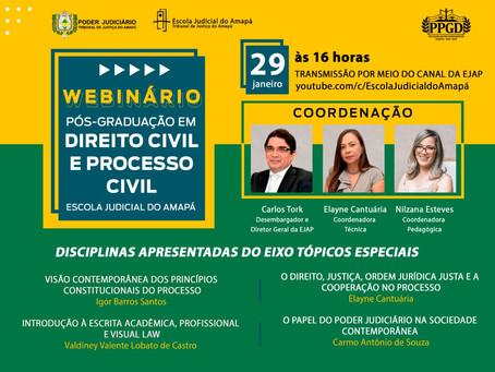 LIVE | 3o Webinário da Pós