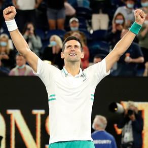 Melbourne: Novak's Town