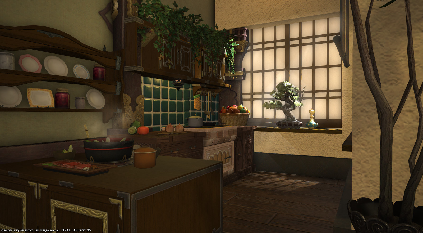 Ffxiv housing interior