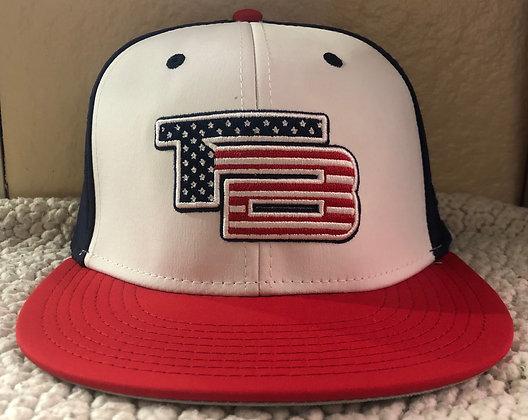 "Hat ""TB"" (Navy/Red)"