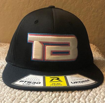 "Hat ""TB"" (Black/White)"
