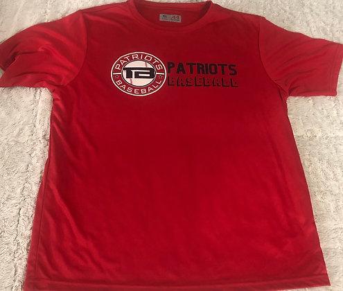 Parent/Practice Shirt (Red) Patriots