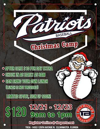 Christmas Camp 2020 (12/21-12/23)