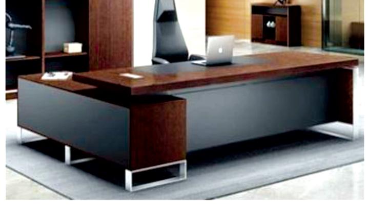 Desk (2.4*0.8M) + Side Drawers+ shelves+ Leaf