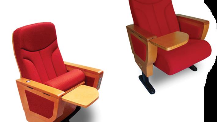 Flip panel chair