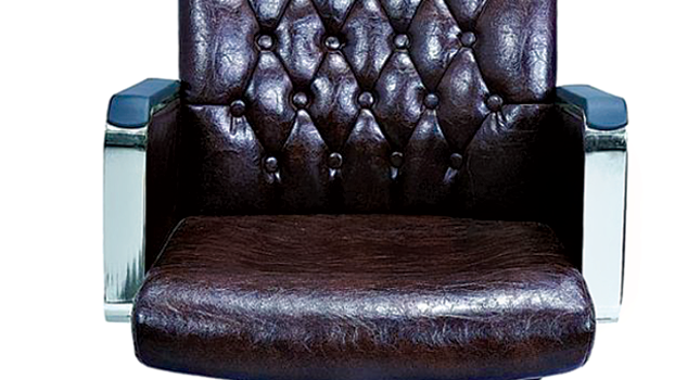 Leather imported chair 514