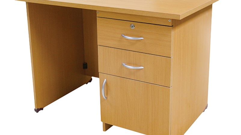 Wood MDF Desk Large