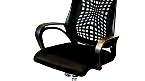 spider web high back chair