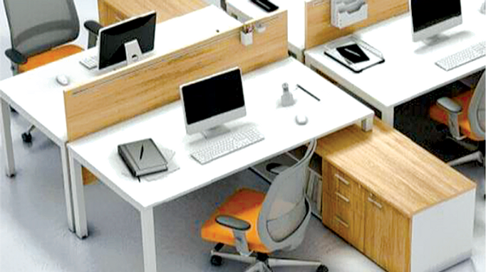 2 Persons Work Station