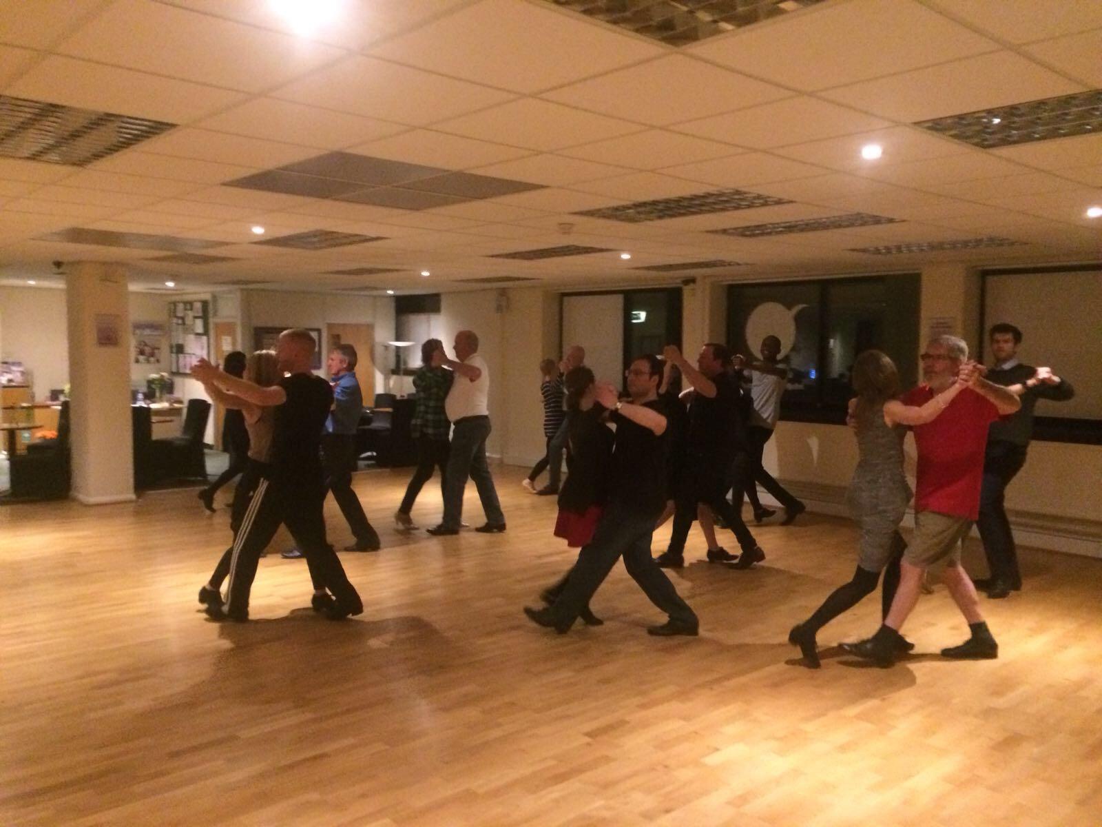 Ballroom & Latin Squad Training
