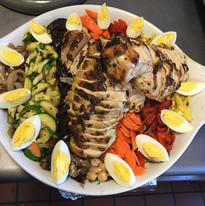 Nice summer salad for a casual get toget