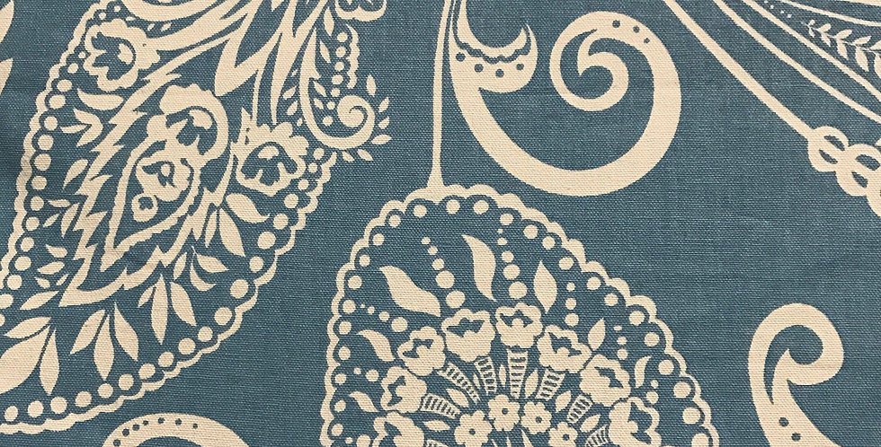 Empirical Paisley - Blue and White