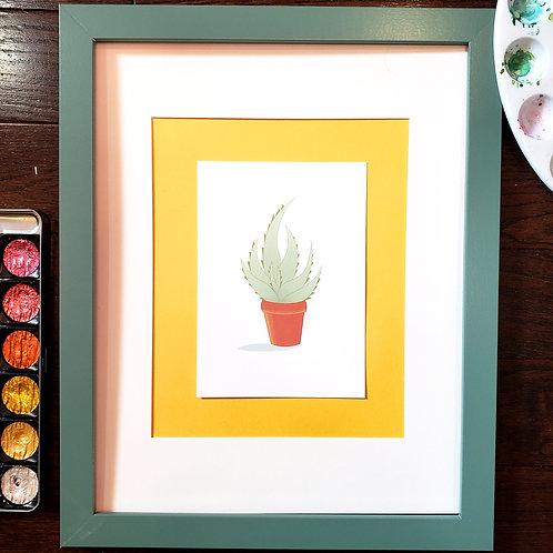 """Aloe"" Print"
