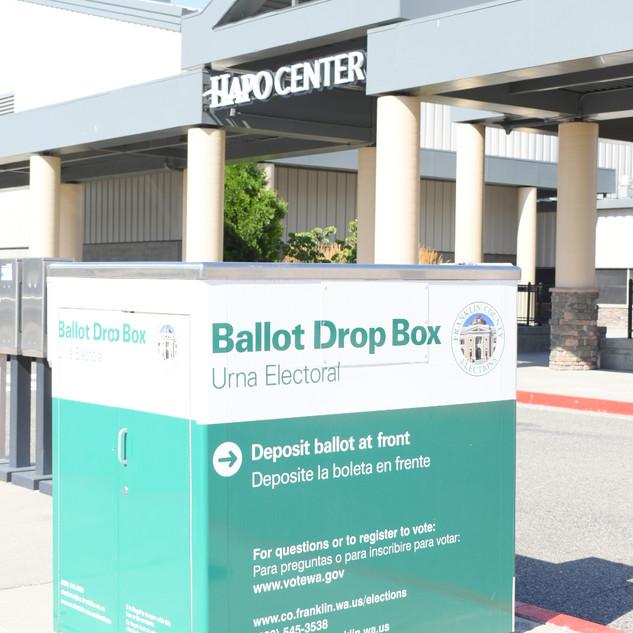 HAPO Center Ballot Box