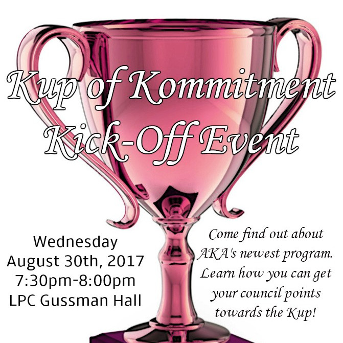 Kup of Kommitment Kick Off Event 20 Points