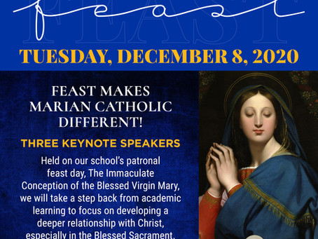 Marian Catholic FEAST