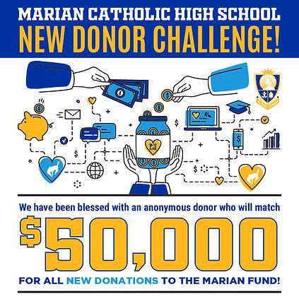Marian 50K Donor Challenge.jpg