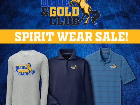 Blue & Gold Club Spirit Wear Sale