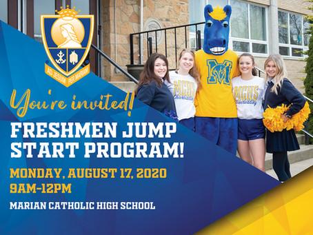 Freshmen Jump Start Program