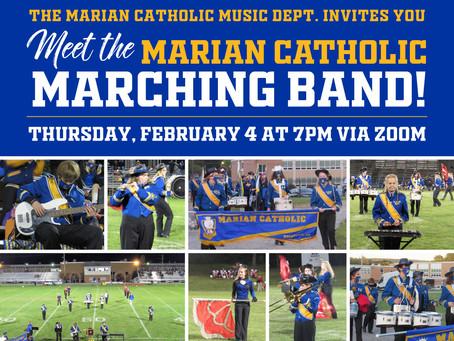 Meet the Marian Catholic Band!