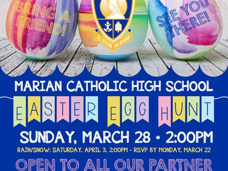 Marian Catholic Easter Egg Hunt