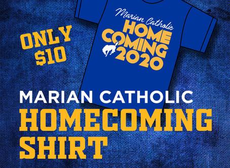 Marian Catholic Homecoming Shirts