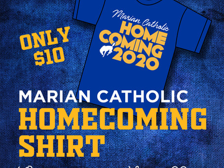 Marian Catholic Homecoming Shirts