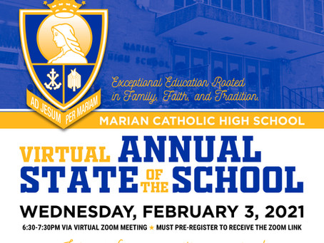 Virtual Annual State of the School