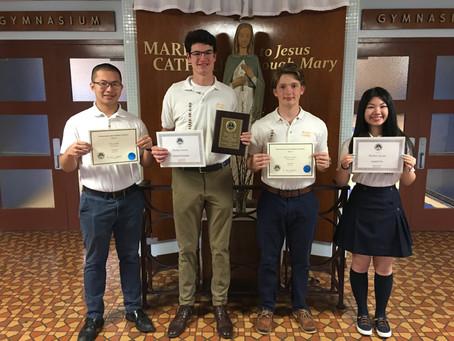 2021 Pennsylvania Junior Academy of Science Regional Competition Award Winners
