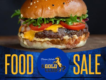 Blue & Gold Club Food Sale