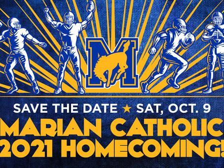 Marian Catholic 2021 Homecoming