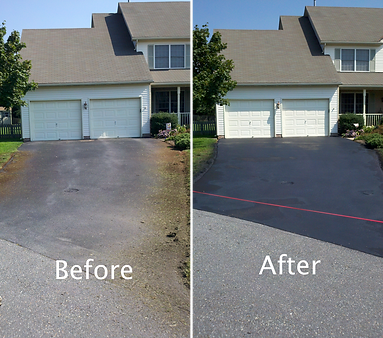 driveway sealcoating dover delaware
