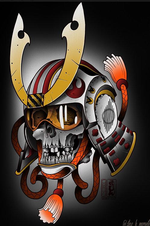 Rebel Samurai skull