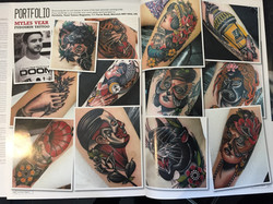 Myles in Total Tattoos Magazine