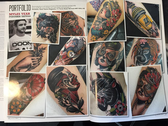 Feature on Myles in Total Tattoos