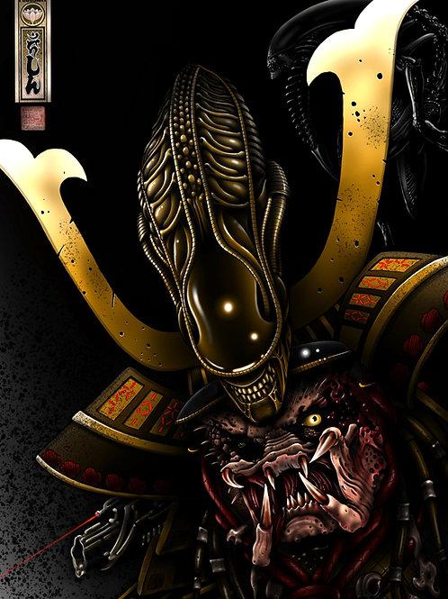 Samurai alien vs predator