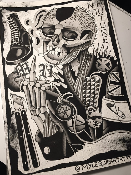 Punk print