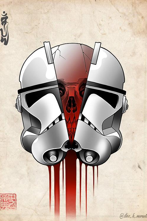 Phase II Clonetrooper skull