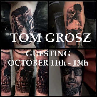 We have Tom Grosz guesting with us in October!