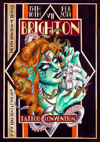 Brighton Tattoo Convention 2014 coming up...