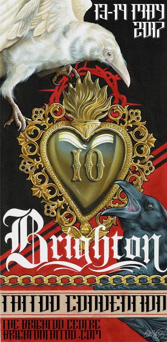 Brighton Tattoo convention 10th Anniversary!