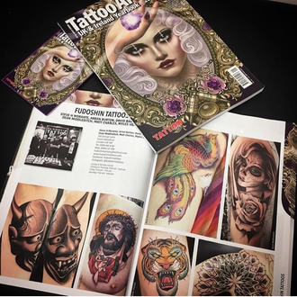 Check us out in the new Tattoo Life yearbook