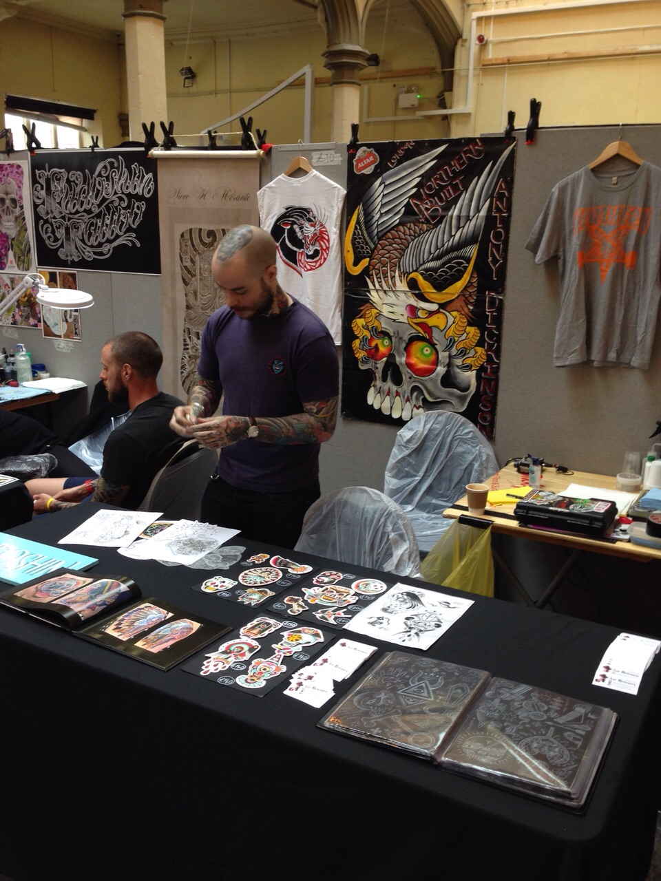 Bristol Tattoo Convention 2015