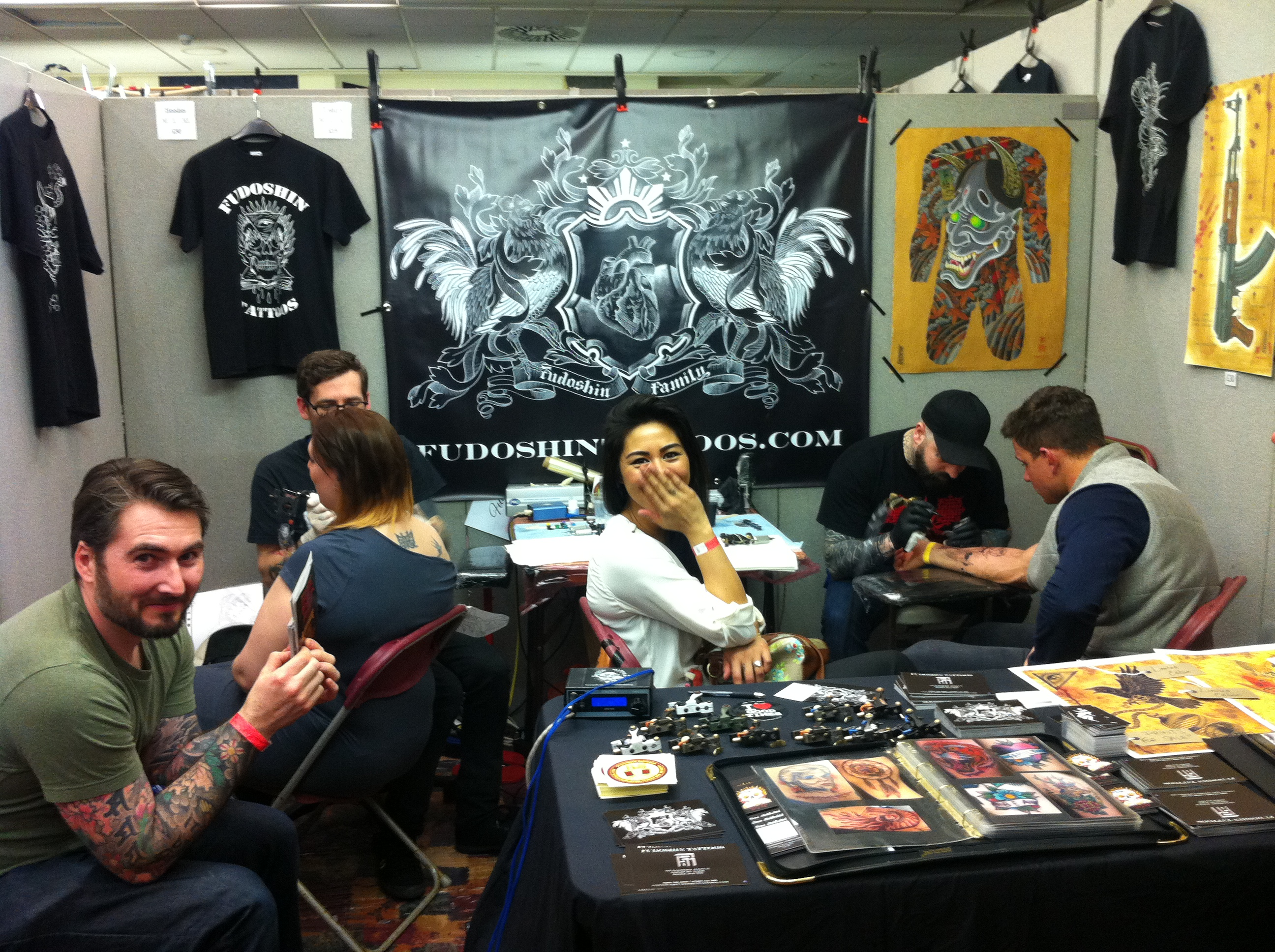 Brighton Tattoo Convention 2013