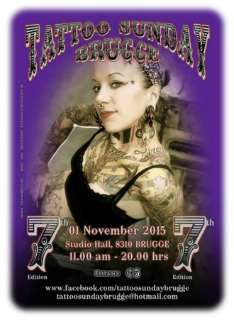 Brugge Tattoo Sunday 2015 coming up...